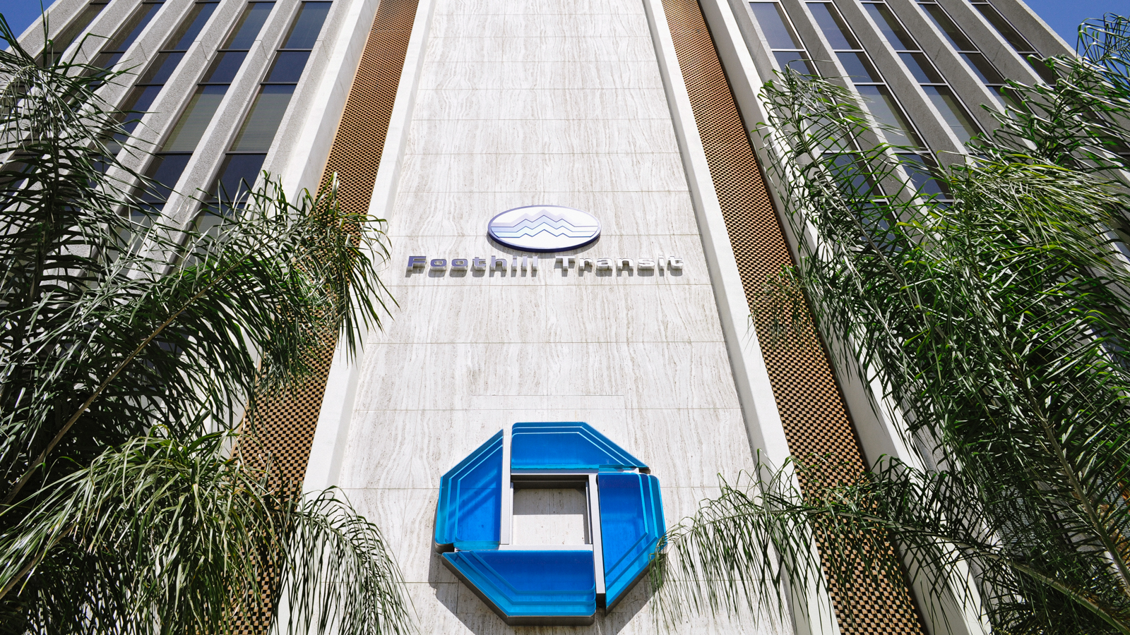 Foothill Transit Headquarters & Chase Bank